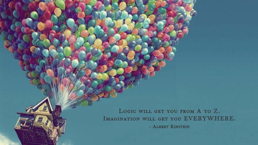 Let your imagination roam!